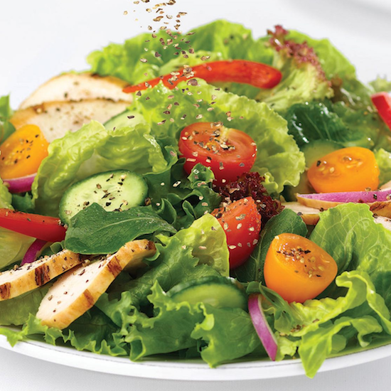 Salad w chicken